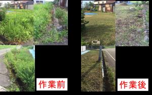 草刈りの画像8月2日