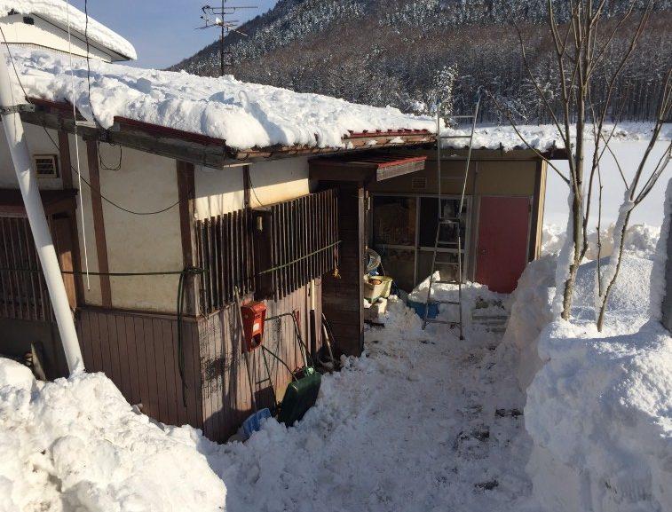 信濃町の除雪3