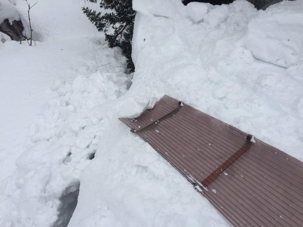 信濃町の雪下ろし2