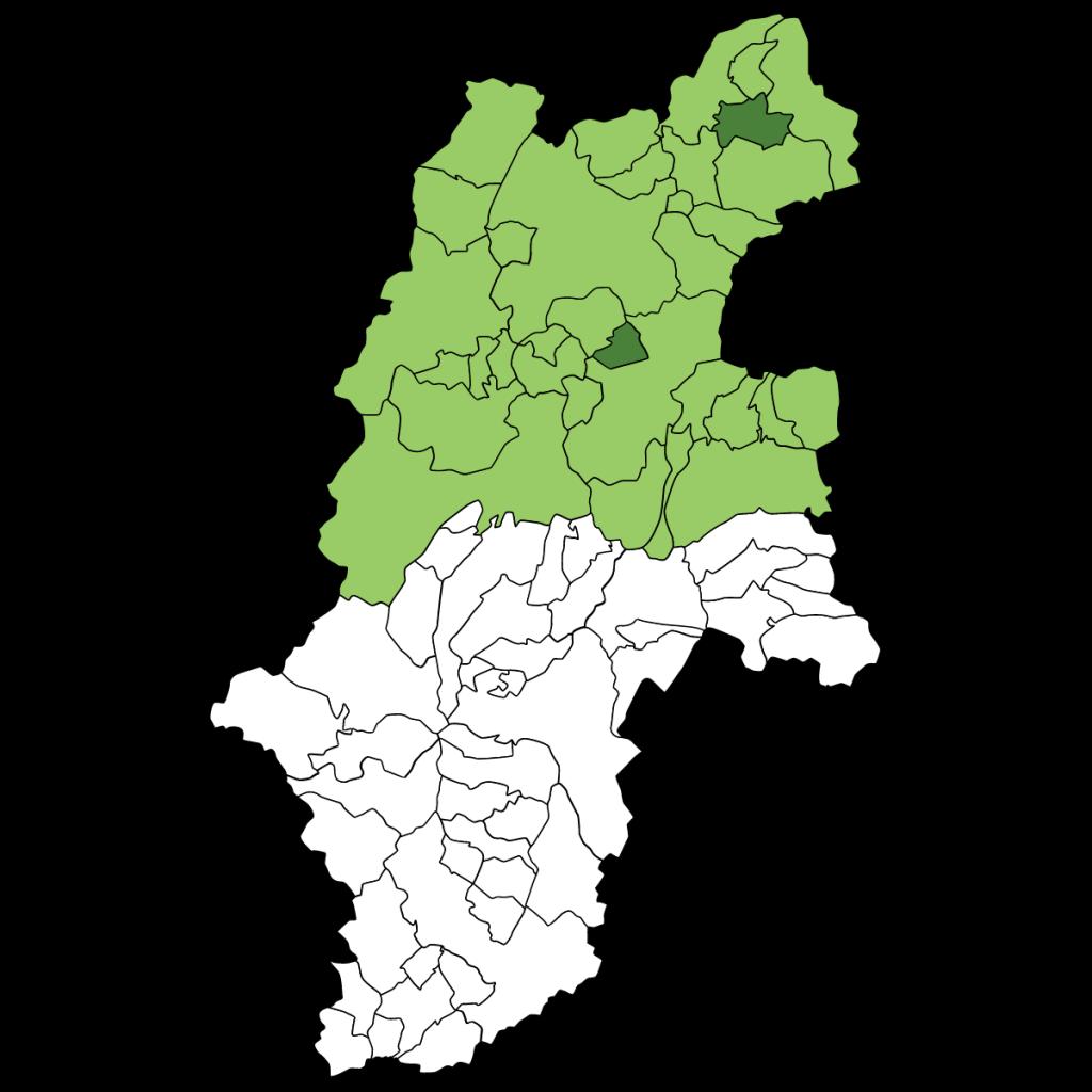 長野北信地図