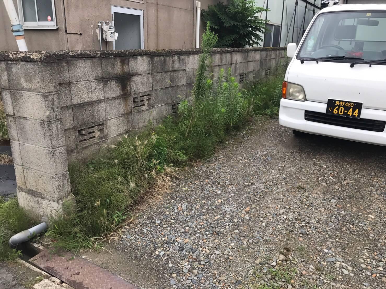長野市稲葉 草刈りリピート1