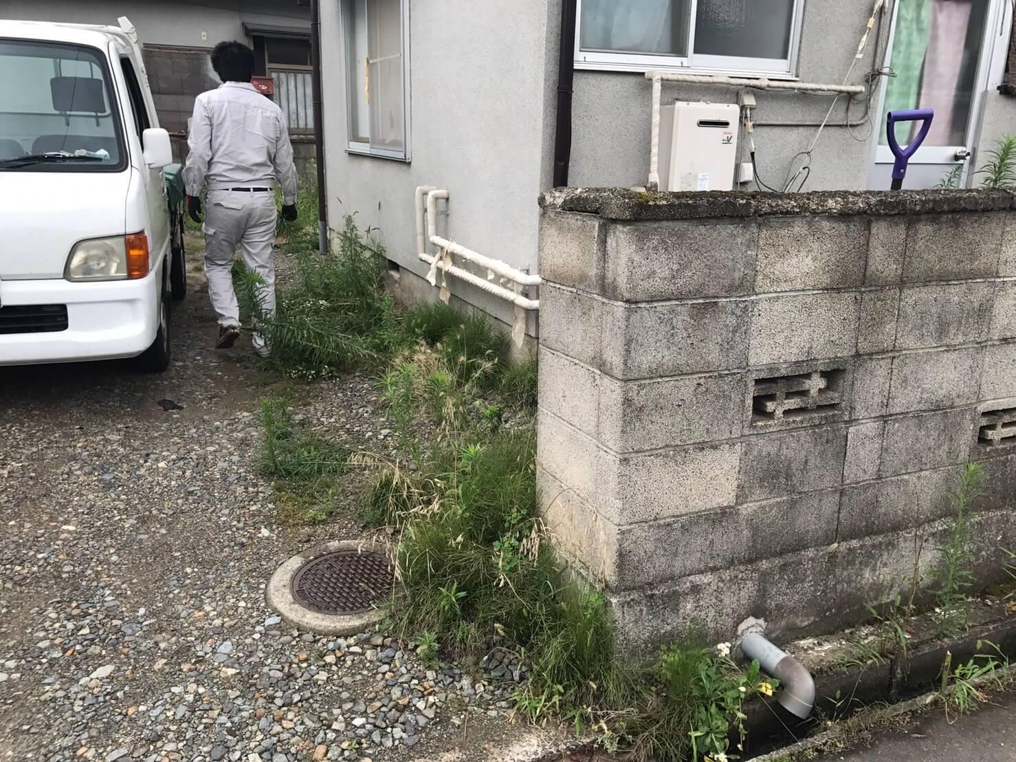 長野市稲葉 草刈りリピート2