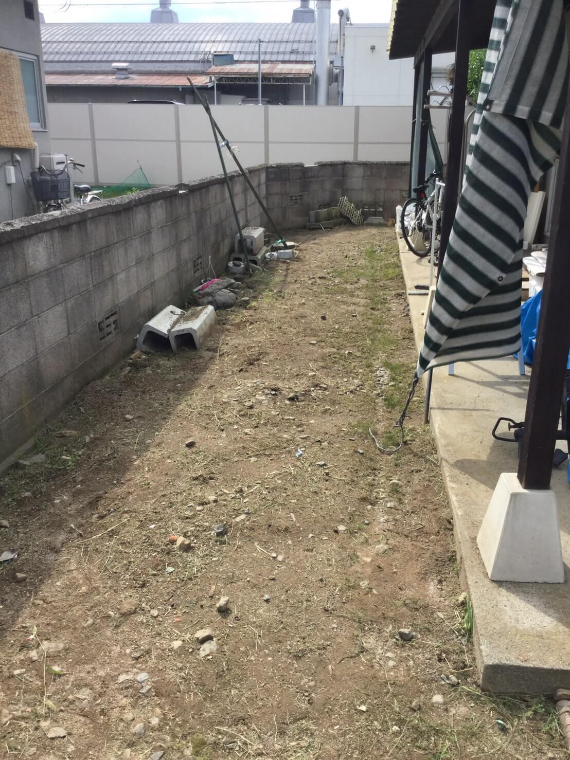 長野市稲葉 草刈りリピート5