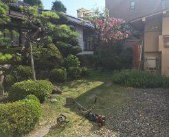 長野市立町 お庭の草刈り2
