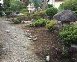 長野市松代東条 大きい庭の草刈り5