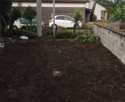 新潟県上越市犀潟 草刈りと木の伐採作業2