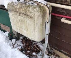 信濃町:灯油タンクの補強