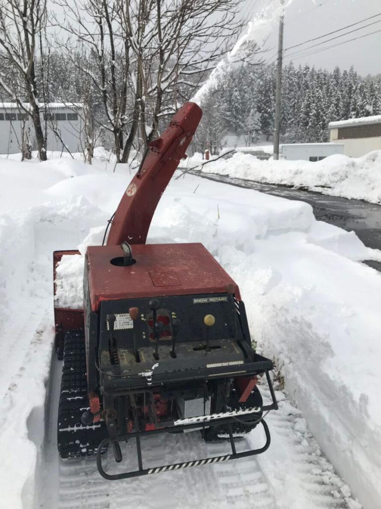 除雪器具メンテナンス4