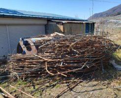 長野市:ビニールハウス等の解体撤去6