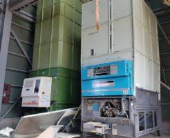 北信地域でのお米乾燥機解体撤去1