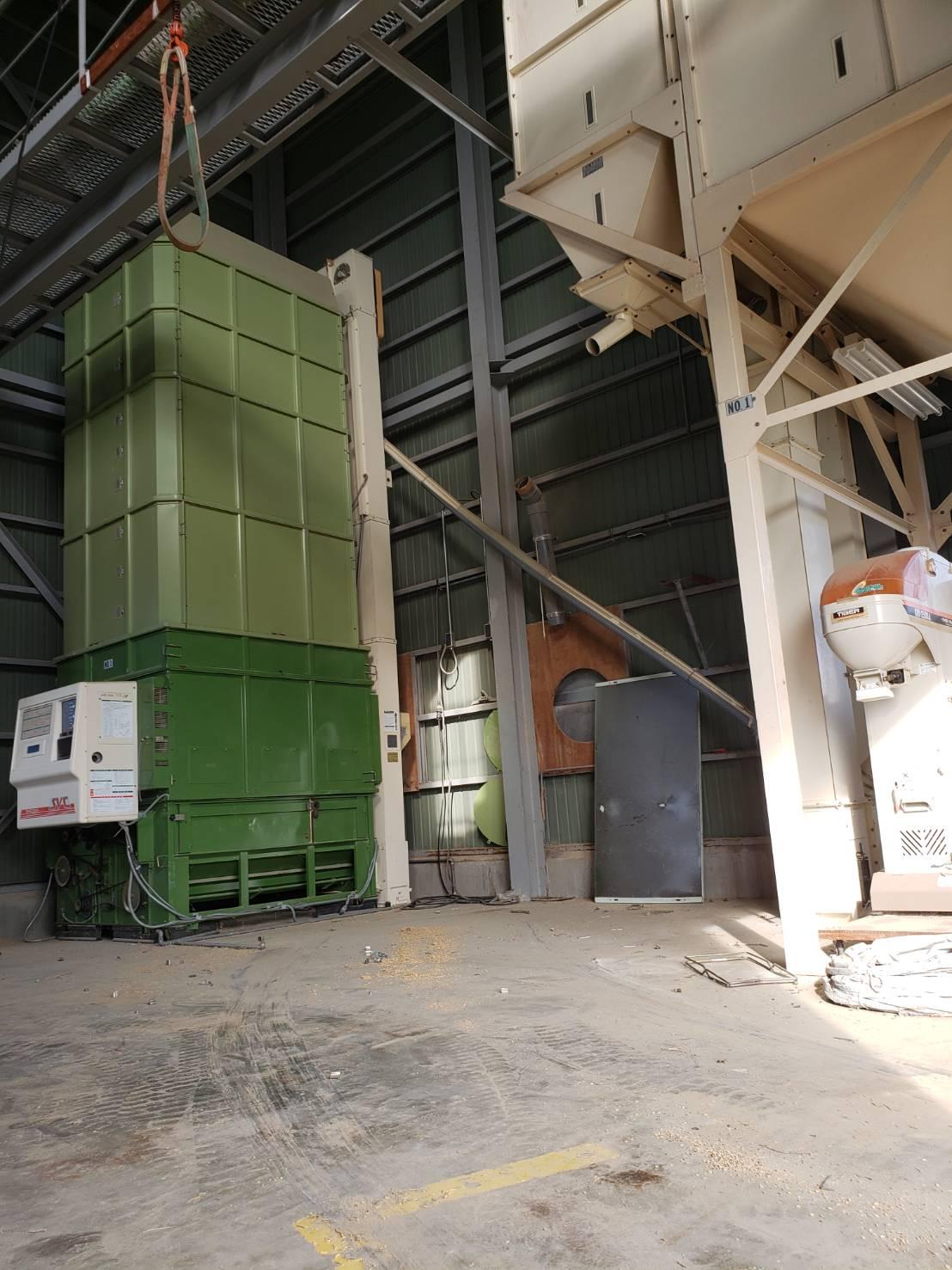 北信地域でのお米乾燥機解体撤去3