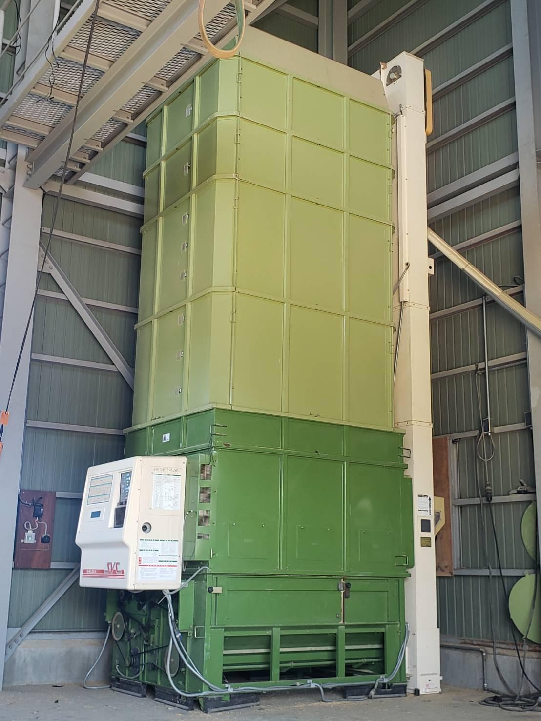 北信地域でのお米乾燥機解体撤去4