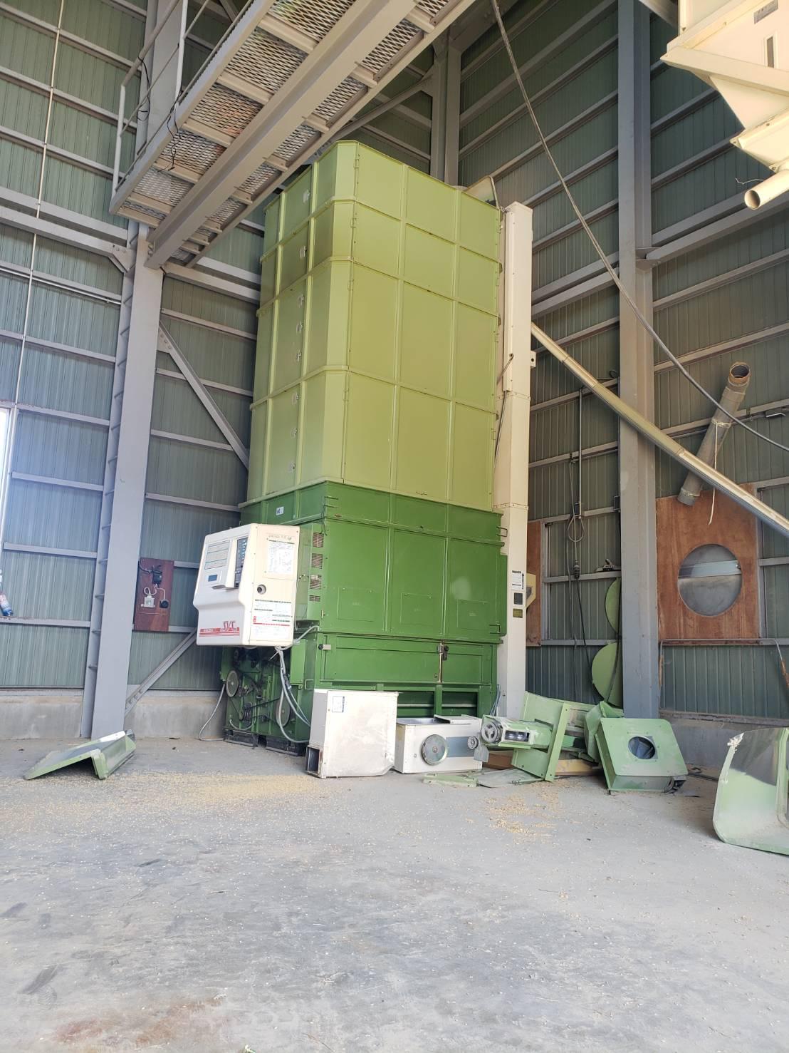 北信地域でのお米乾燥機解体撤去5