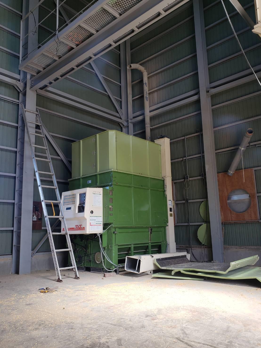 北信地域でのお米乾燥機解体撤去6