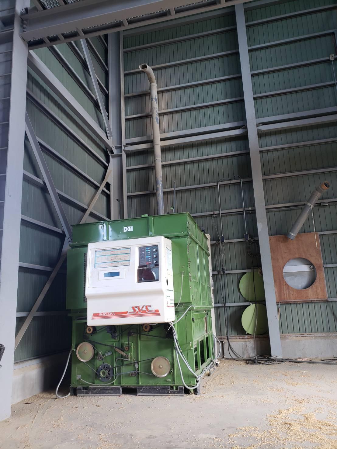 北信地域でのお米乾燥機解体撤去7