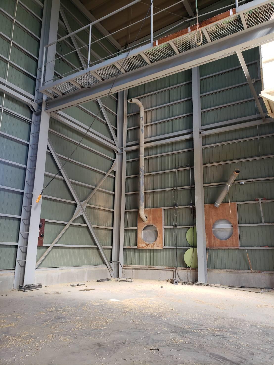 北信地域でのお米乾燥機解体撤去8