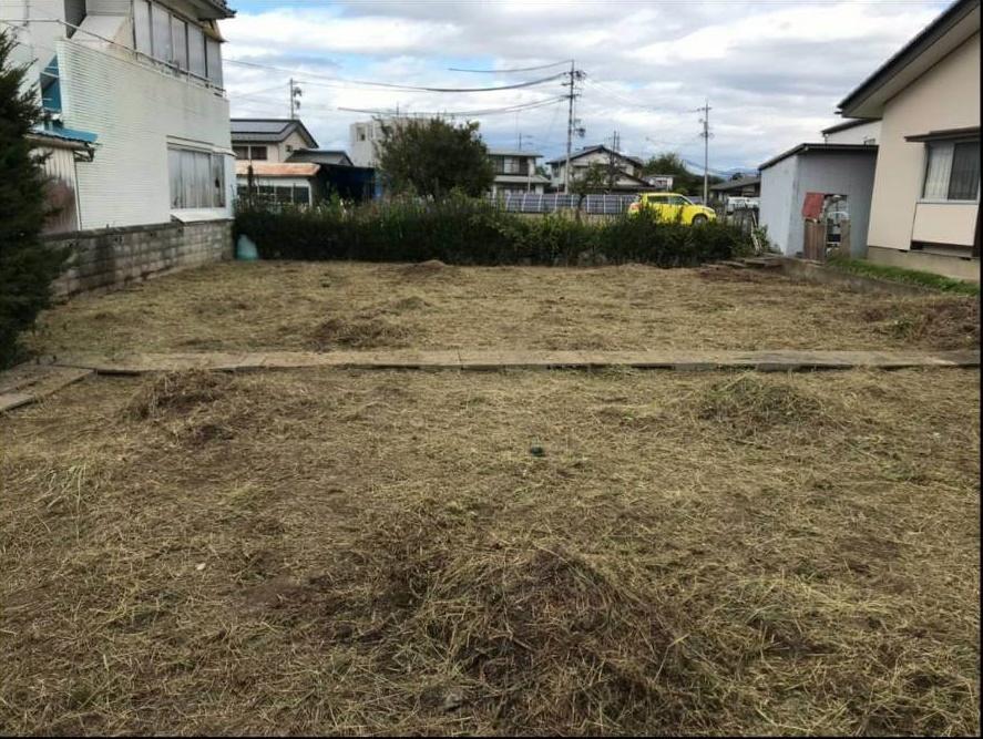 長野市:2020年10月秋の草刈り4