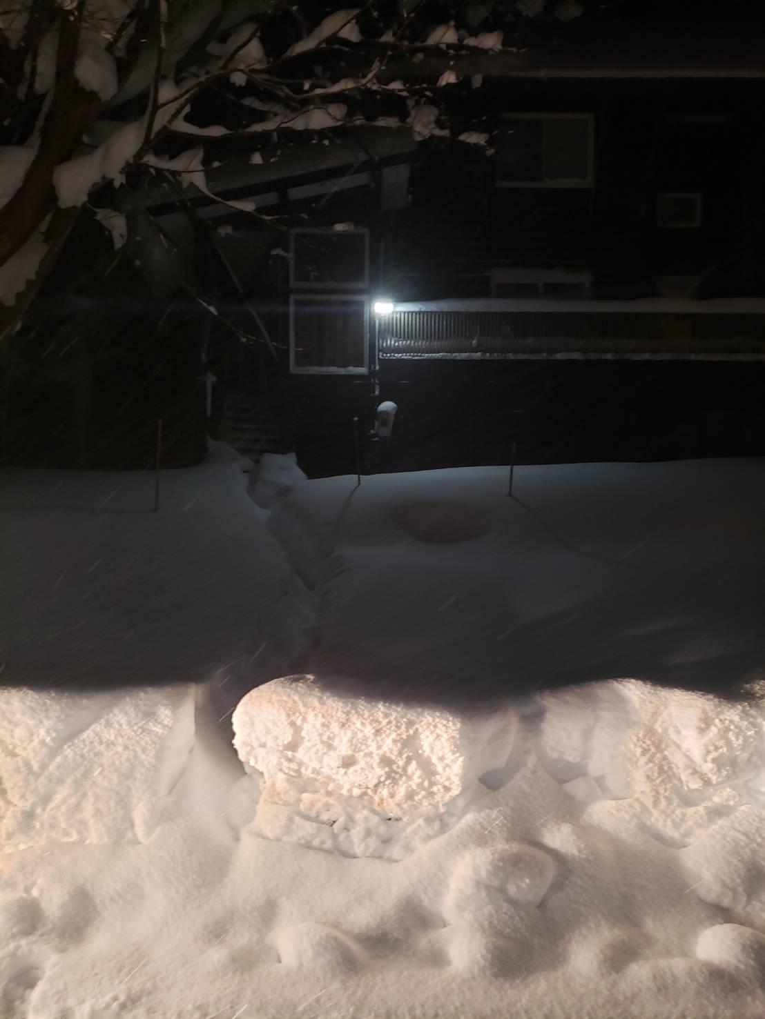 2020年12月19日 南信地域の除雪1
