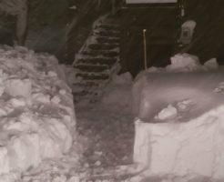 2020年12月19日 南信地域の除雪5