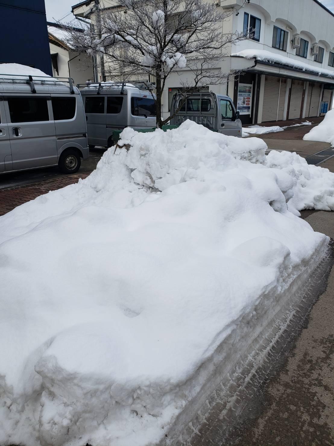 2021年1月8日飯山市除雪2