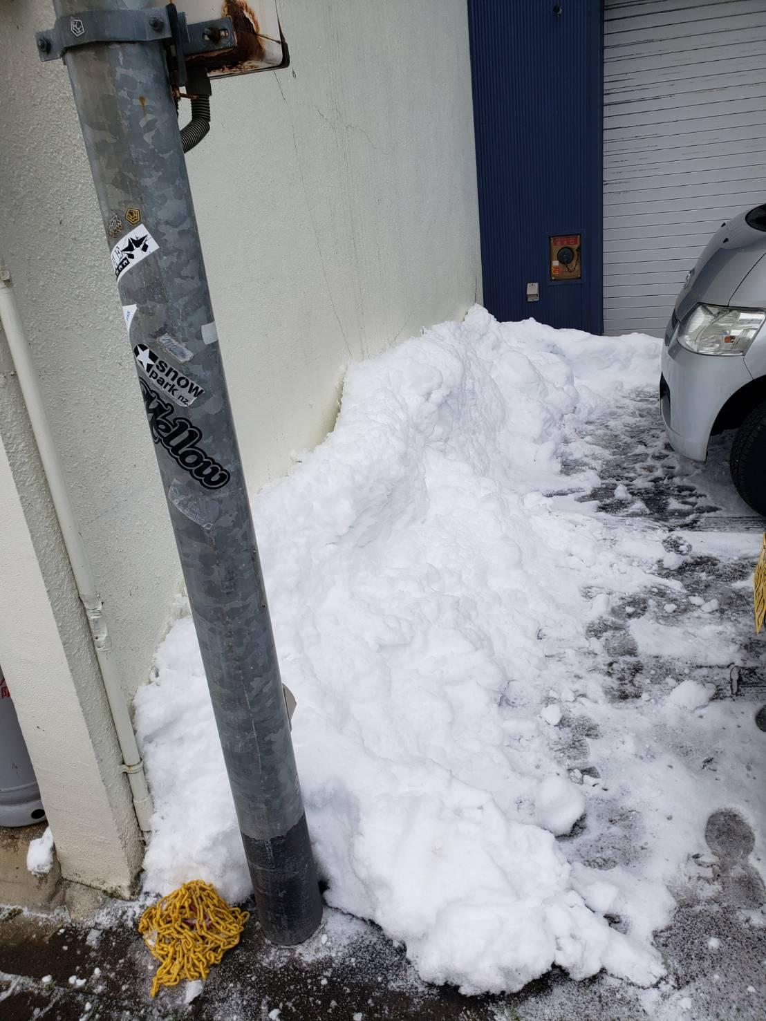2021年1月8日飯山市除雪3
