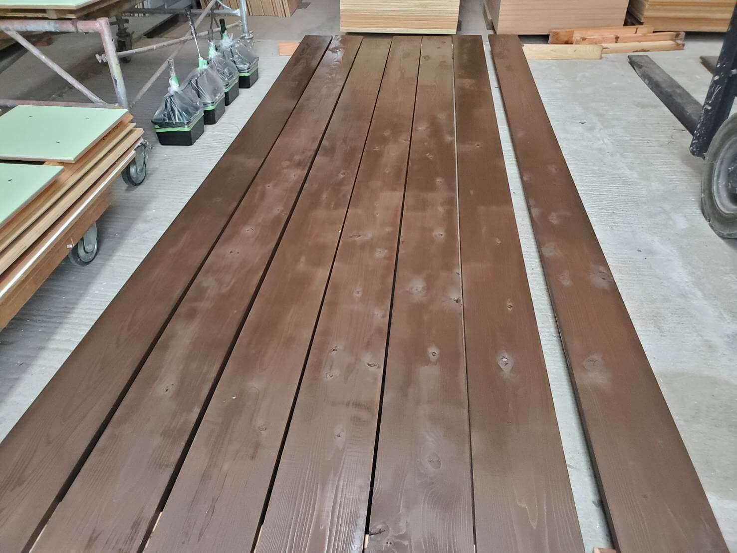 2021年5月24日軽井沢木製スロープ修理2