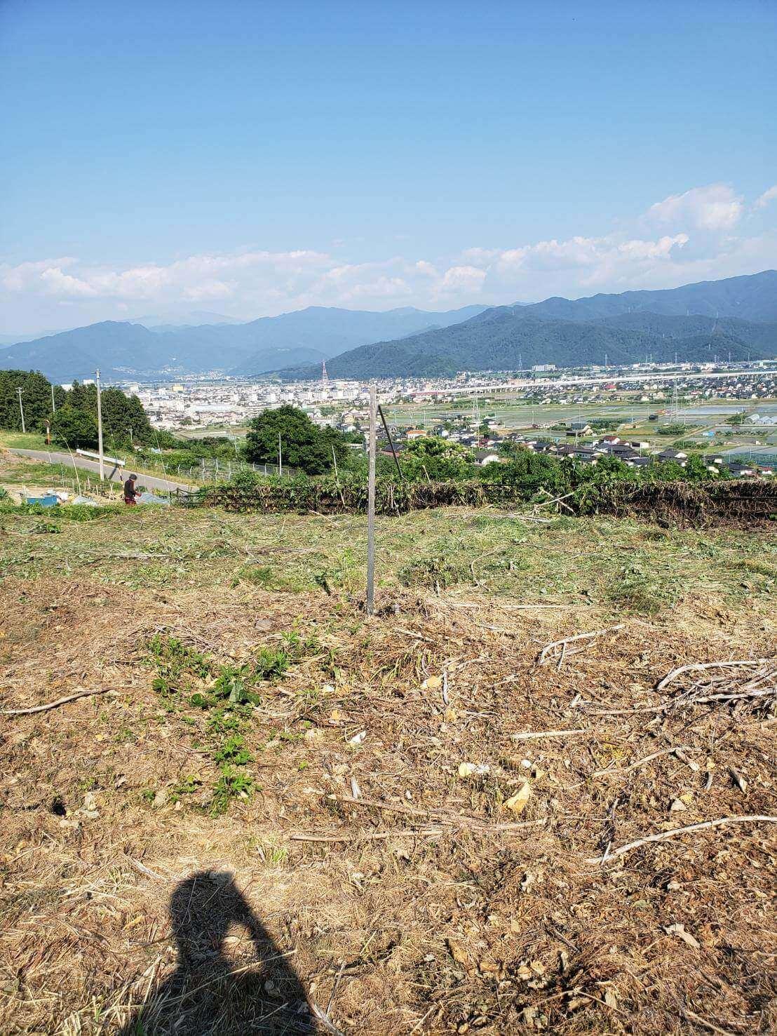 2021年6月9日長野市草刈り3