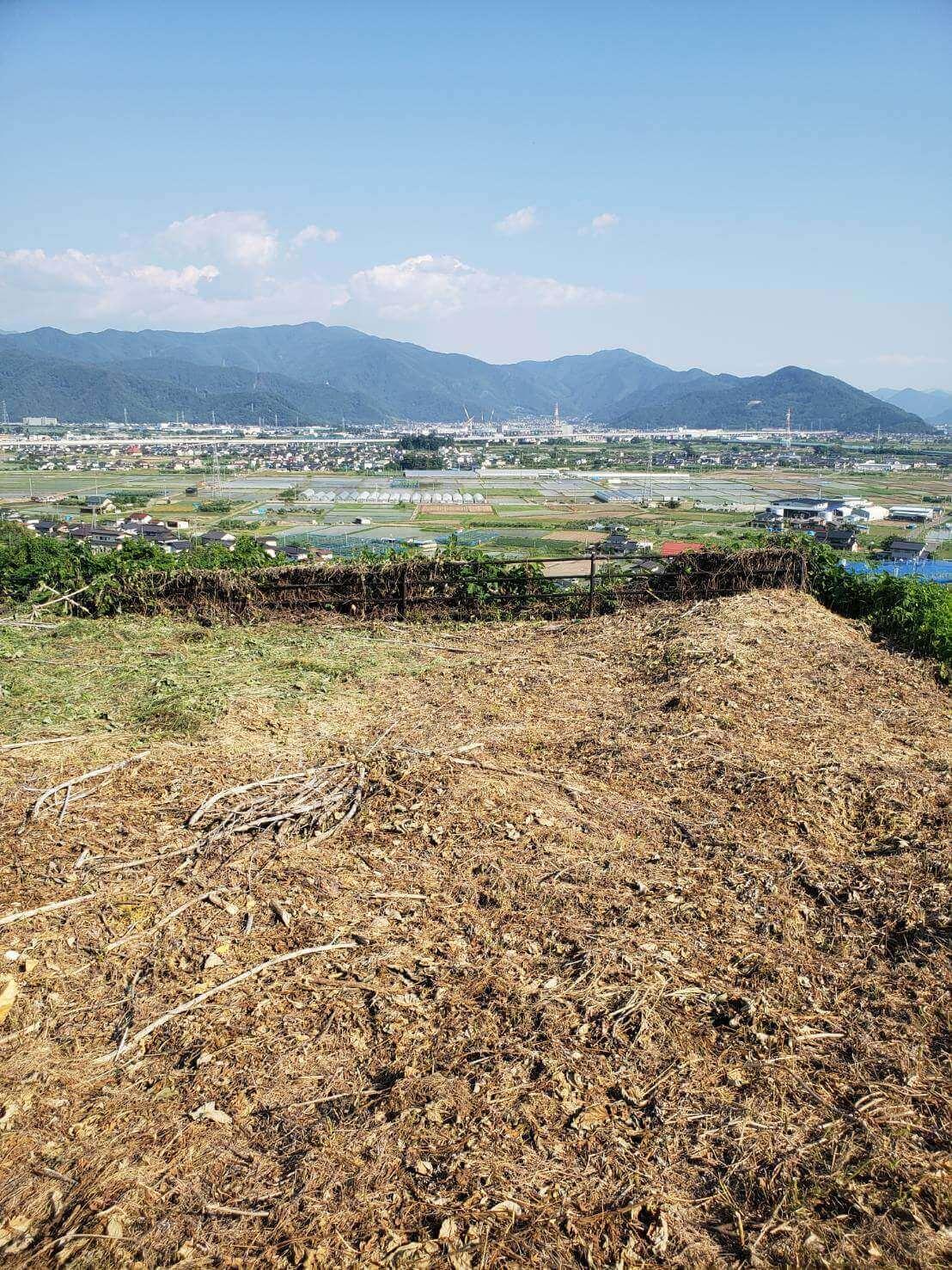 2021年6月9日長野市草刈り4