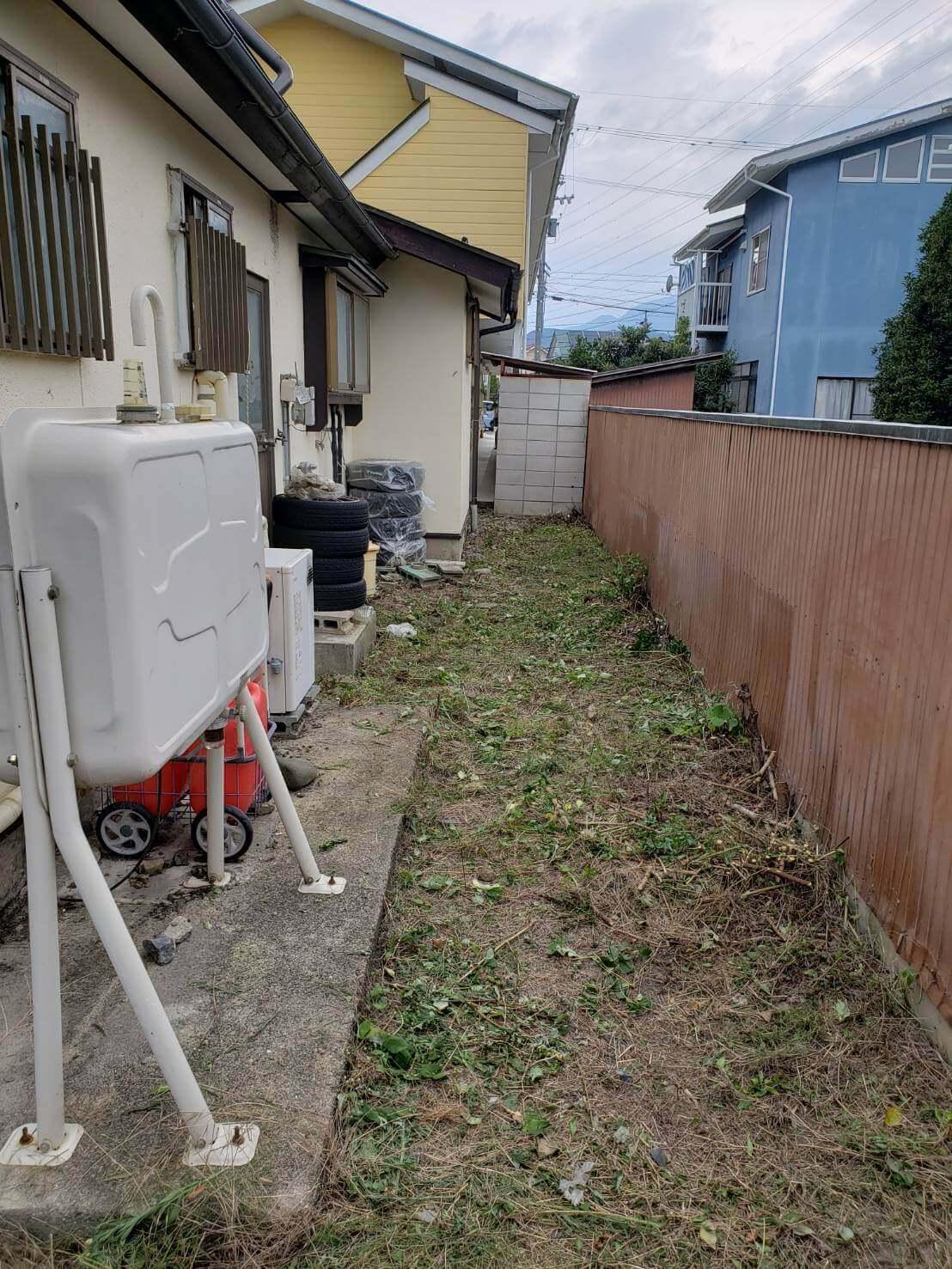 2021年8月13日長野市草刈り8